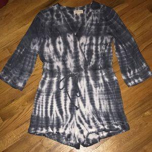 Cloth & Stone Tie Dye Romper
